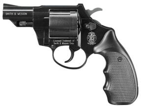 Photo Revolver 9 mm à blanc Smith & Wesson Combat bronzé