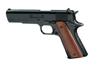 Photo Pistolet 9 mm à blanc Chiappa 911 bronzé