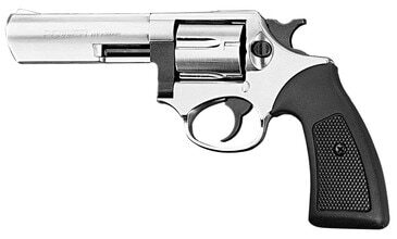 Photo Revolver 9 mm to white Chiappa Kruger 4 '' nickel plated