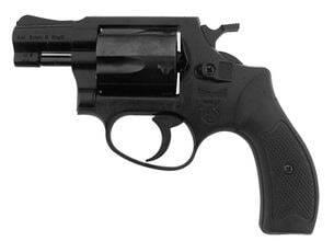 Photo Revolver 9 mm à blanc Arminius HW37 noir