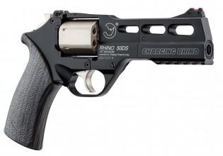 Photo Réplique Airgun revolver Co2 CHIAPPA CHARGING RHINO 50DS 3.5J série limitée 4,5mm à plombs
