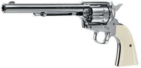 Photo Revolver Colt single action .45 nickel BB's cal. 4,5 mm