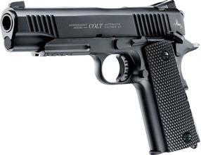 Photo Pistolet CO2 Colt M45 noir CQBP BB's cal 4,5 mm
