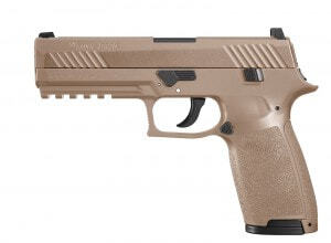 Photo Sig Sauer P320 Co2 Pistol 4.5mm Leaded FDE