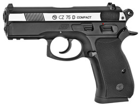 Photo Pistolet CO2 CZ 75D Compact bicolore BB's cal. 4,5 mm