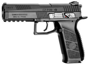 Photo CO2 pistol CZ P09 cal. 4.5 mm