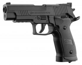 Photo Pistolet Co2 culasse fixe BORNER Z122 cal. 4.5mm BB's