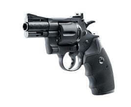 Photo Revolver CO2 Colt Python 2,5'' noir BB's  cal. 4,5 mm