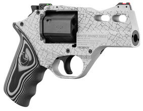Photo Revolver Chiappa Rhino 30 DS 3'' White Cerakote