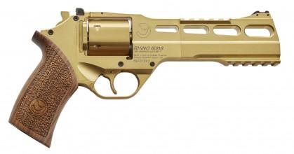 Photo Revolver Chiappa Rhino 60 DS 6'' Gold