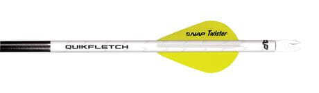 "Photo Easy-to-install 2 ""quickfletch vanes"