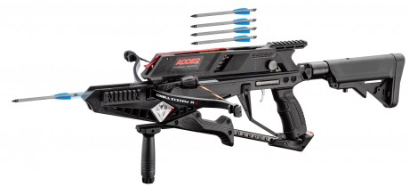 Photo ADDER X BOW crossbow with 5 shots repetition!