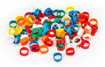 Photo Tracking rings clips by 100