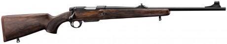 Photo Carabine à verrou Renato Baldi crosse noyer - calibre . 222 Rem
