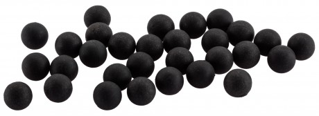 Photo Cal. 43 - Rubber + metal balls - Box of 100 balls