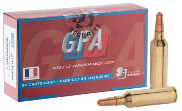 Photo Munitions à percussion centrale Sologne .270 WSM à balle GPA