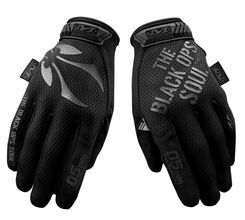Photo Gants BO Mechanix Touch Noirs