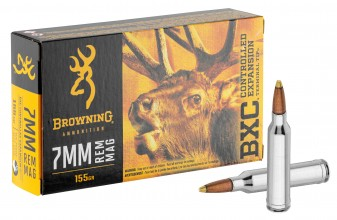 Photo Munition grande chasse Browning cal. 7 mm Rem