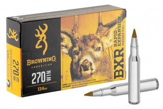 Photo Munition grande chasse Browning cal. 270 Win