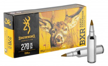 Photo Munition grande chasse Browning cal. 270 WSM