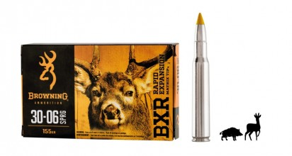 Photo Munition grande chasse Browning cal. 30-06 Springfield