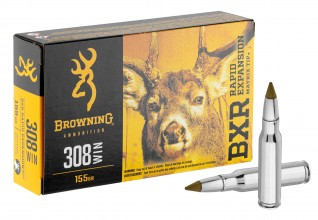 Photo Munition grande chasse Browning cal. 308 Win