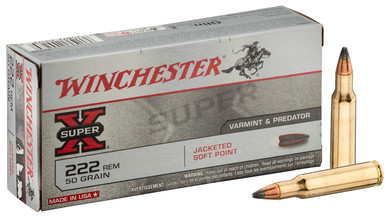 Photo Munition grande chasse Winchester Cal. 222 REM