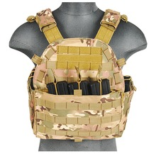 Photo Veste Plate Carrier 1000D Camo