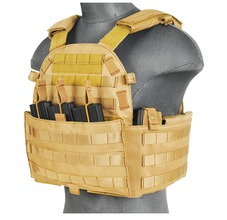Photo Veste Plate Carrier 1000D Tan