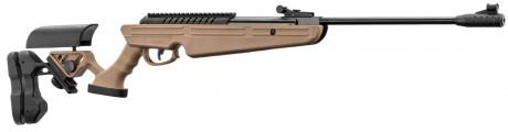 Photo TAN break barrel air rifle QUANTICO Cal. 4,5mm