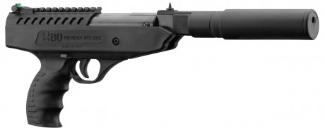 Photo Pistolet à air break barrel LANGLEY SILENCER