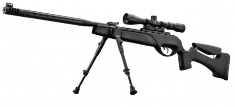 Photo Rifle GAMO HPA IGT 19.9 joules cal. 4.5 mm + bezel 3-9 x 40 WR + bipod