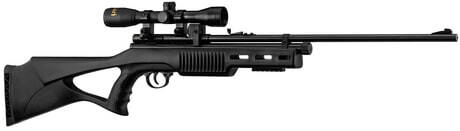 Photo QB78S Co2 Rifle + 9 pellets mag & 4x32 scope with mount - 19,9J