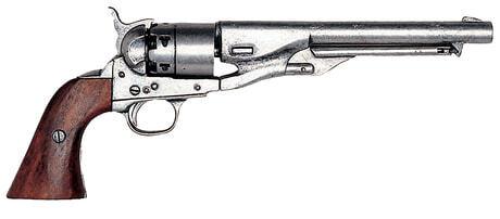 Photo Réplique décorative Denix de Revolver 1860 guerre civile américaine