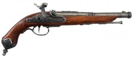 Photo Decorative replica Denix of Italian percussion pistol of 1825
