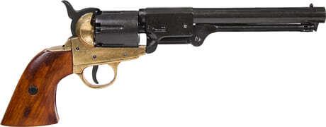 Photo Denix decorative replica of American Navy Revolver 1851