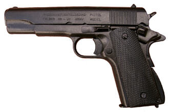 Photo Denix decorative replica of the American M1911 pistol