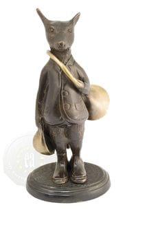 Photo Sujets en bronze avec trompe