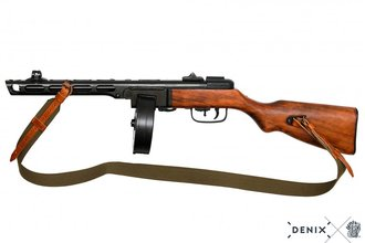 Photo Decorative replica Denix Russian submachine gun PPSH-41