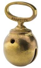 Photo Grelots bronzé Armistol en alliage bronzé, monoblocs