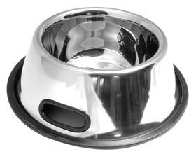 Photo Inox container for dogs
