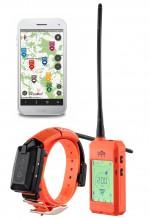 Photo Collier GPS et de dressage pour chiens DogTrace X30T  orange fluo