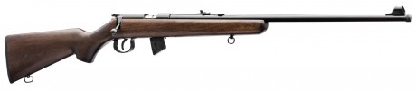 Photo Carabine 22 LR Norinco mod. JW15 à crosse bois foncé