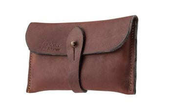 Photo Bold leather clutch - Country Saddlery
