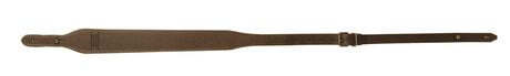 Photo Leather rifle shoulder strap, buttons - Country Saddlery