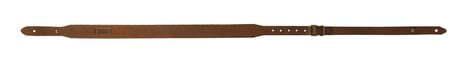 Photo Bretelle carabine en cuir gras, boutons - Country Sellerie