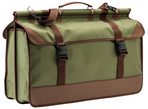 Photo Green / brown canvas bag - Country