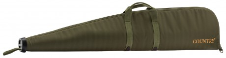 Photo Green Cordura Rifle Scabbard with Bezel - Country Saddlery