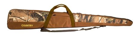 Photo Rifle scabbard camo brown - Country Saddlery