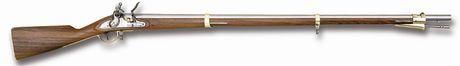 Photo Fusil 1798 Austrian à silex cal. 69